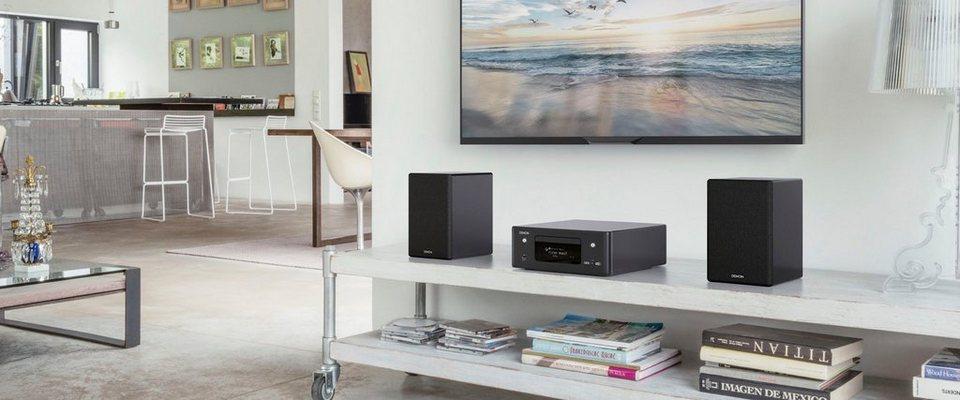 Denon Kompaktanlage CEOL-N11DAB, Bluetooth, Streaming, CD, DAB+, Multiroom