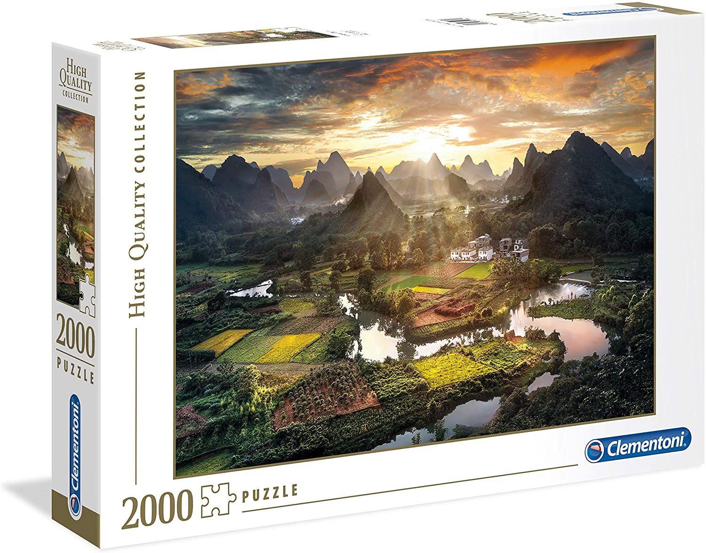 Clementoni Puzzle verschiedene Motive mit 1500 bzw. 2000 Teilen, Lidl