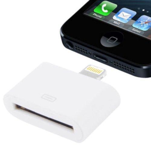 Lightning 8-pin auf 30-pin Dock-Anschluss-Adapter für Apple iPhone 5, iPod Touch 5G, iPad Mini & iPad 4, iPod Nano 7G für nur 4,99 € inkl. Versand @ Amazon