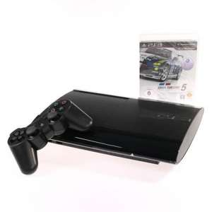 Sony PlayStation 3 SuperSlim 500 GB inkl. 1 wireless Controller und Gran Turismo 5: Academy Edition @ GetGoods