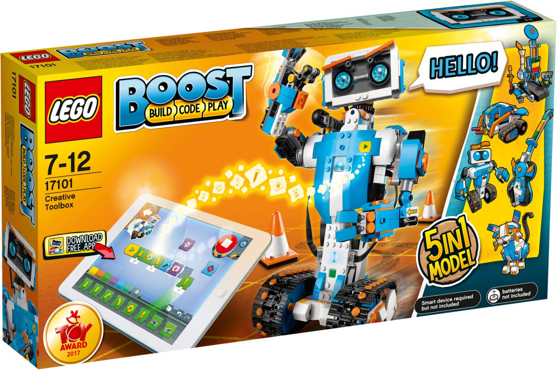 LEGO BOOST 17101 Programmierbares Roboticset | 84,99 € über Kids Wish List bei amazon