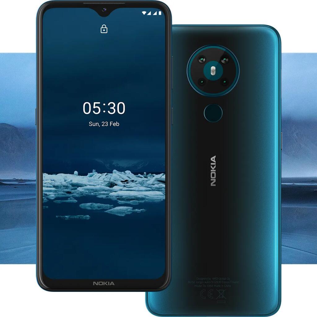 Nokia 5.3 Charcoal oder Cyan