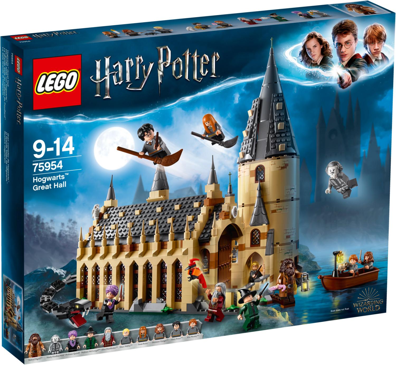 LEGO 75954 Die große Halle von Hogwarts™ Bausatz, Mehrfarbig LEGO® Black Friday Week