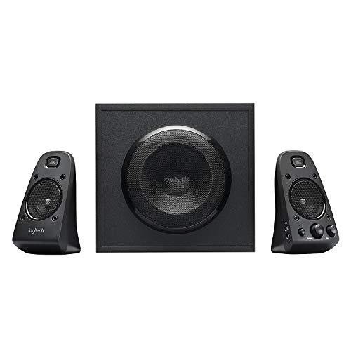 Logitech Z623 Lautsprecher-System mit Subwoofer, Satter Bass, 400 Watt Spitzenleistung