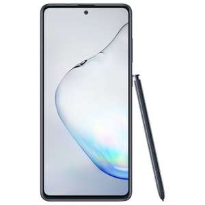 "Samsung Galaxy Note 10 Lite 128/6GB + Galaxy S-Pen (Exynos 9810, 6.67"" Amoled Display, 4500mAh Akku, NFC, 199 Gramm)"