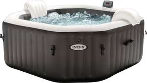 Intex Whirlpool Pure-Spa Bubble & Jet Octagon Deluxe 218cm/6 Personen/Salzwassersystem