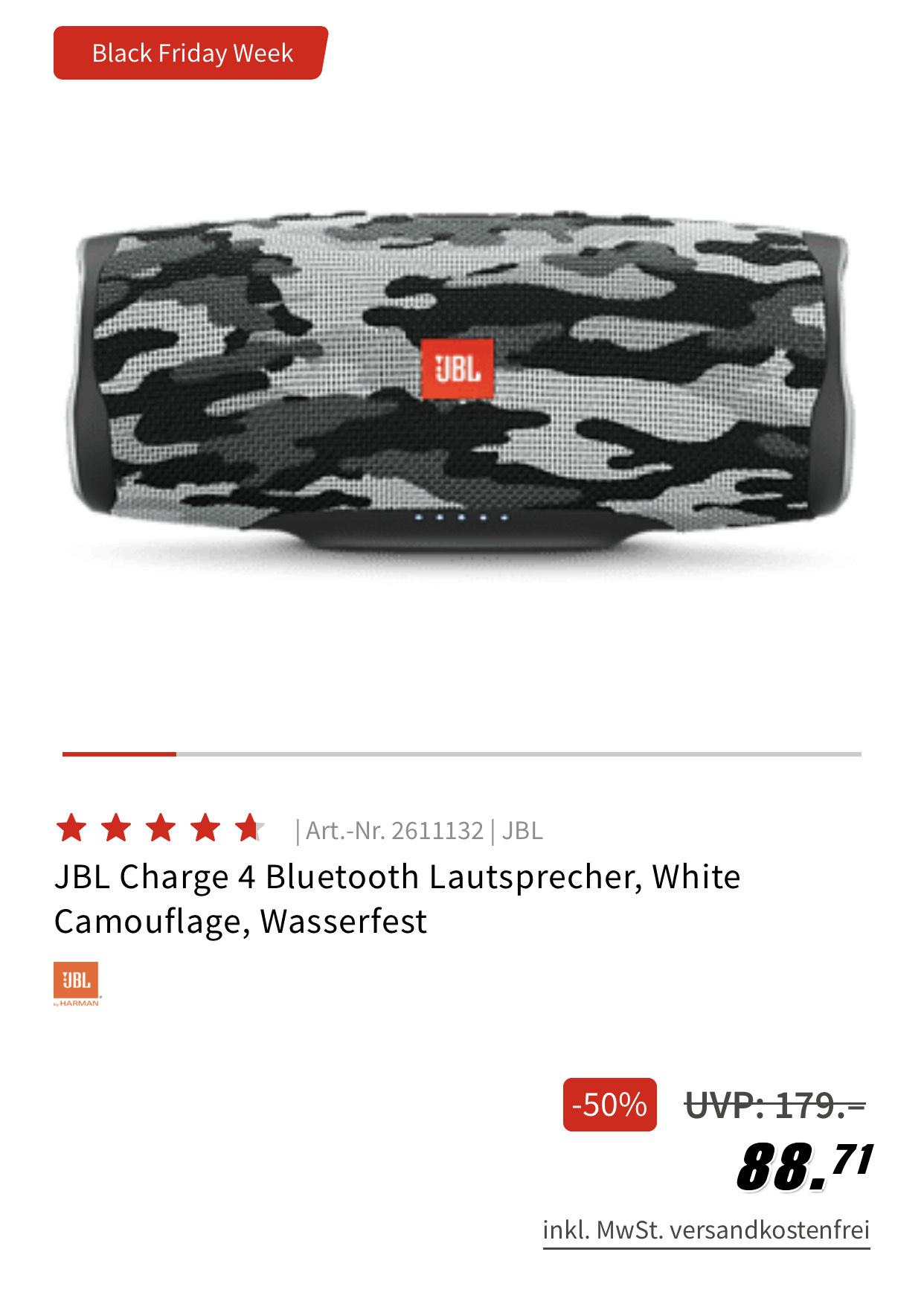 JBL Charge 4 Lautsprecher