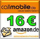 SimKarte ohne Vertrag mit 16€Amazon Gutschein oder 16GB MicroSD Karte