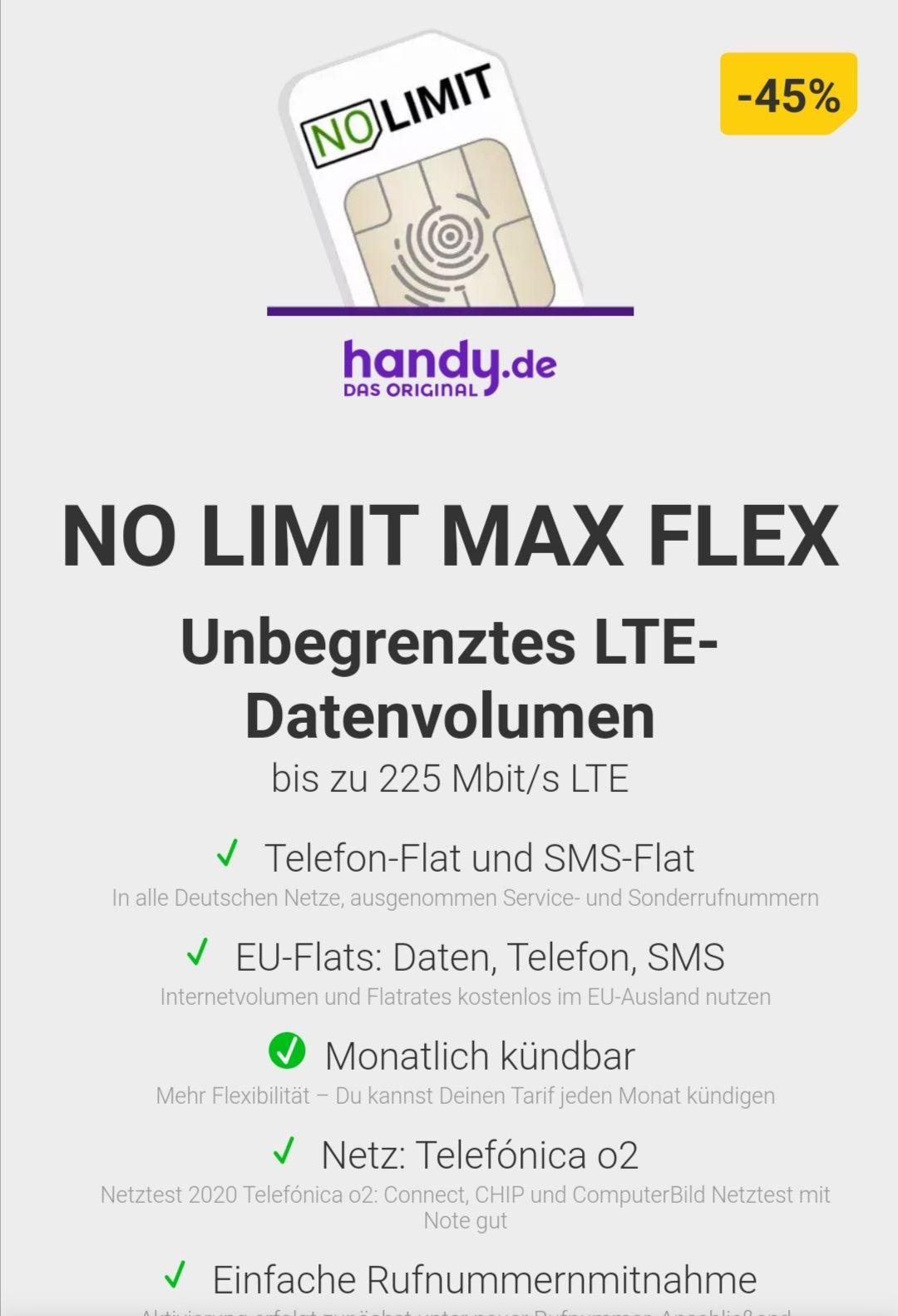 All Net Flat Unlimited 29,99€ mtl.