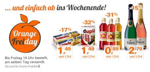 Faber Sekt 2,79€, Hanuta & Duplo 1,49€, Kombucha Carpe Diem 0,89€ bei Allyouneed.com