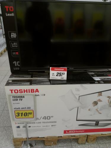 Diverse Fernseher günstig ( Lokal Dorsten Toom Markt)