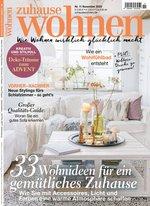 Zuhause Wohnen Abo (11 Ausgaben) für 35 € mit 35 € BestChoice-/ 30 € Amazon-Gutschein