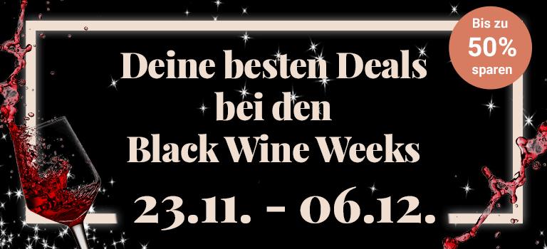 Black Wine Week bei Vinzery - zB 6 Flaschen Weißwein von Tina Pfaffmann: Sauvignon Blanc 2018 für 24€ inkl. VSK