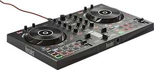 Hercules Inpulse 300 - DJ Controller (2 Deck, Beatmatch, 16 Pads)
