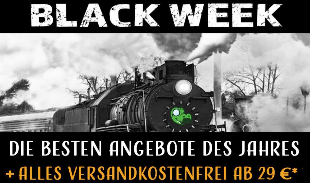 SMDV.de BlackWeek mit Spielwaren und Modeleisenbahnen im Angebot + Versandkostenfrei ab 29€ z.B. Piko N 40460 N E-Lok BR 1225 der NS