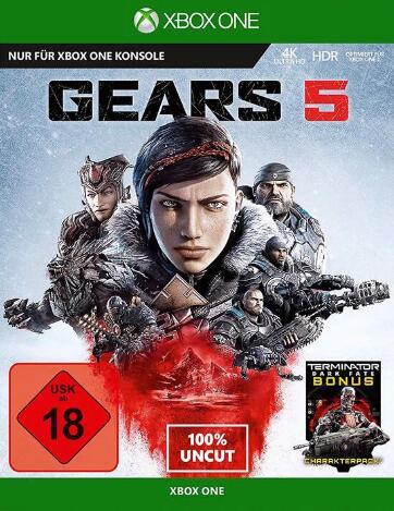 Gears 5 (Xbox Series X & Xbox One) für 7,75€ (GameStop)