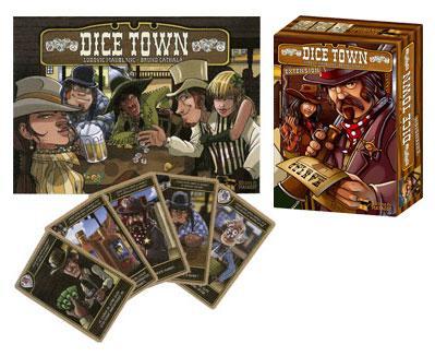 Kartenspiel Dice Town inkl. Erweiterung bei Spiele-Offensive.de für nur 17,99 EUR. 14,99 EUR für Neukunden
