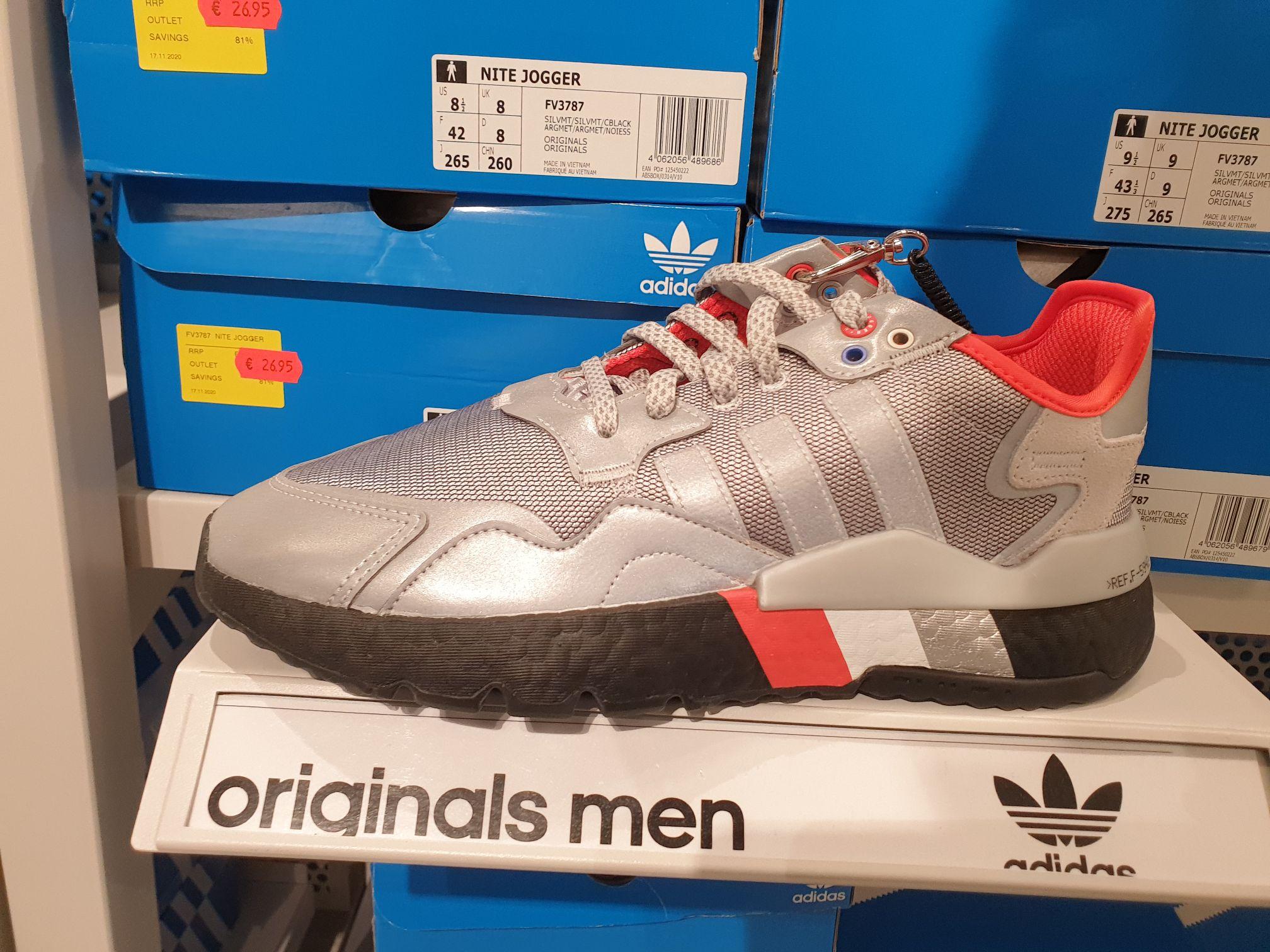 [Lokal Adidas Outlet Bremen/Brinkum] Adidas Nite Jogger 26,95€