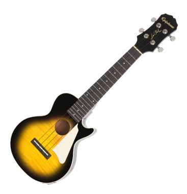 [Kirstein.de] Epiphone Les Paul Concert Ukulele - Vintage Sunburst mit Tonabnehmer und Gigbag [ggf. 3% shoop][Musikinstrument][Musikerdeal]