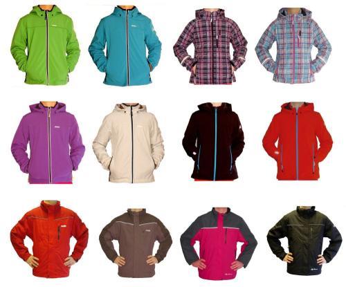 Icepeak Kinder Softshelljacke Jacken oder HighColorado Doppeljacken 2 in 1 Jacke 19,95 @ebay