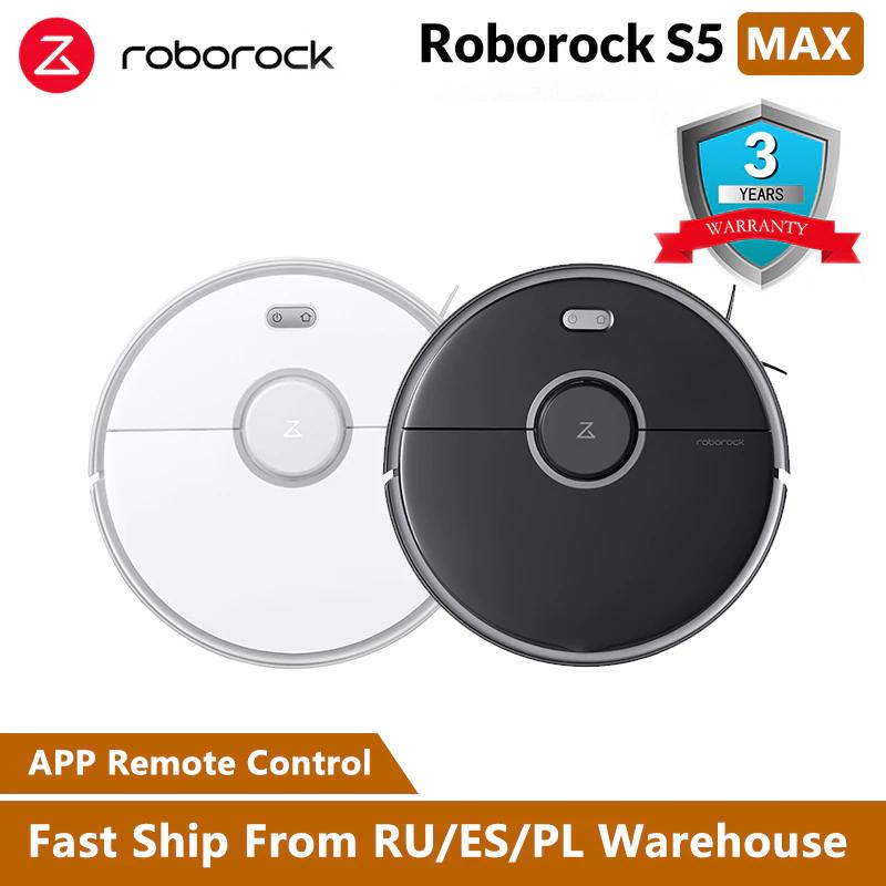 Roborock S5 Max bei AliExpress (Versand aus EU) für 256,20€ durch Coin-Rabatt