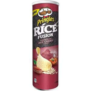 Pringles Rice Fusion Malaysian Red Curry 160g MHD:27/11/20 (Lokal Gießen)