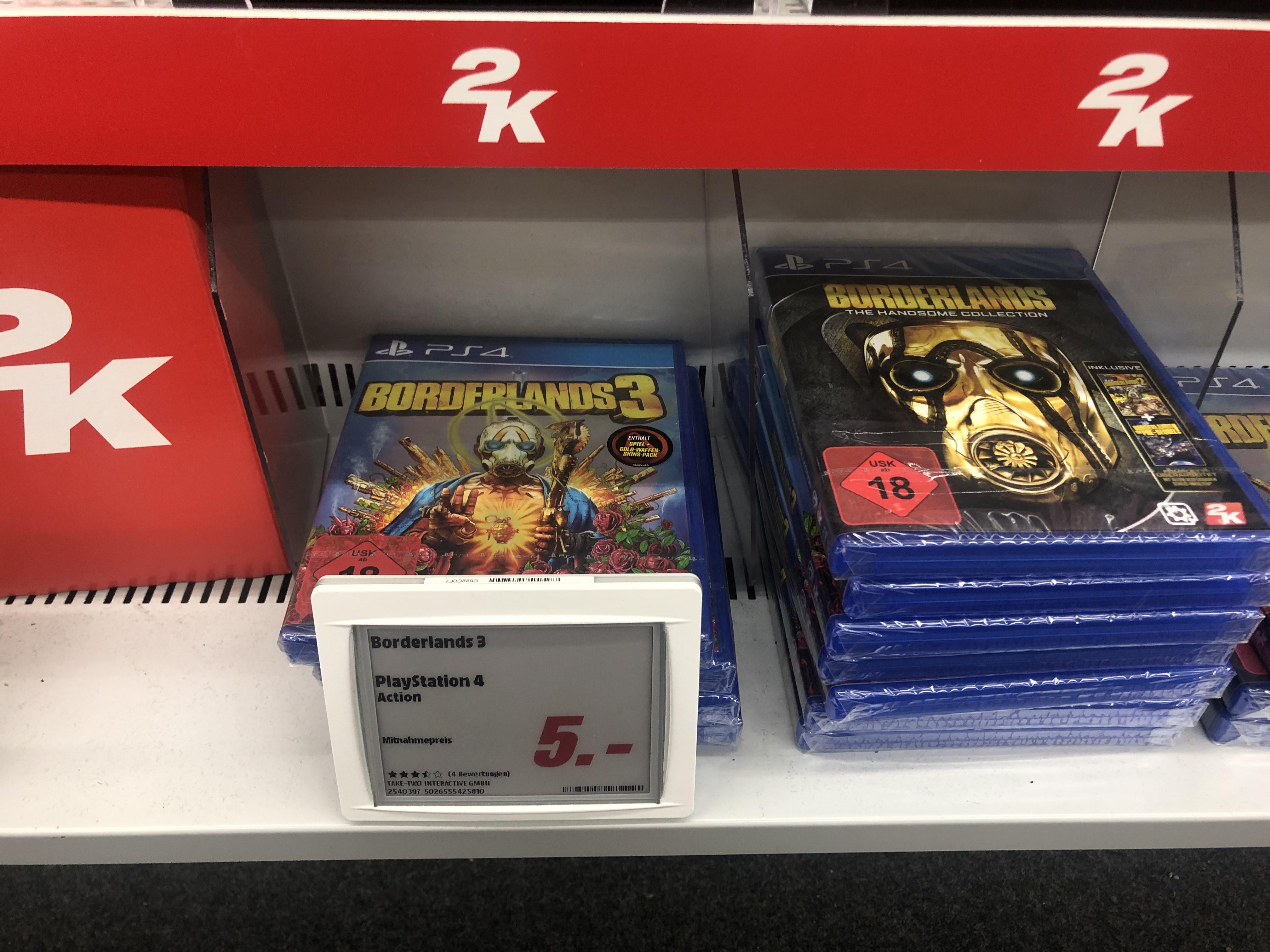 [Lokal] Media Markt Pasing Arcaden - Borderlands 3 PS 4