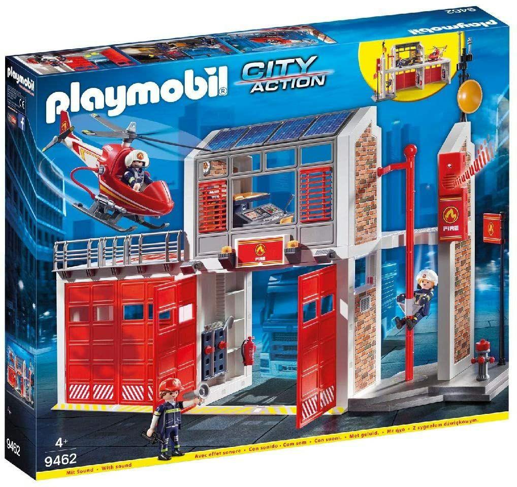 [Prime/Galeria nur offline] Playmobil 9462 City Action Große Feuerwache mit Soundeffekten, Ab 4 Jahren (59,99€ - 11,99€ Coupon)