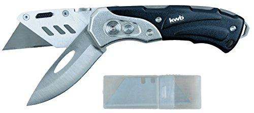 [Amazon] Schweres Universal-Messer inkl. Cutter-Messer von kwb