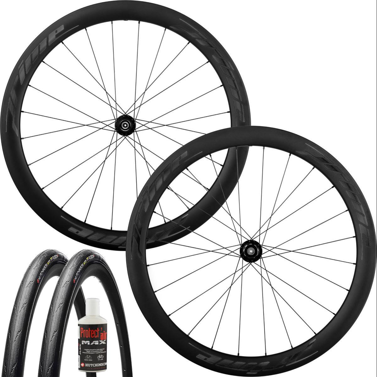Prime RR 50 V3 Radsatz fürs Rennrad mit TR-Set, Carbon, 50mm, Disc oder Felgenbremse