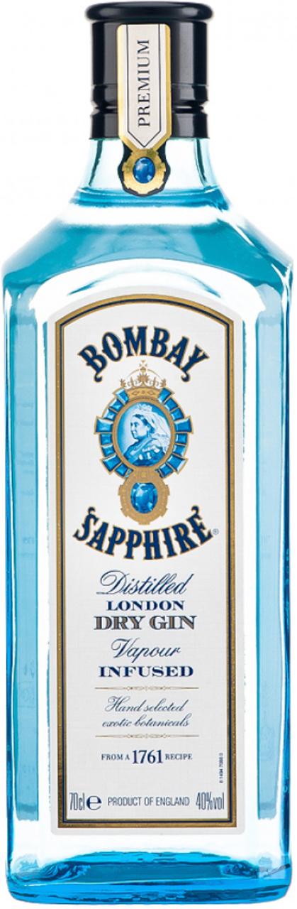 Bombay Sapphire London Dry Gin, 700ml, 40 % Vol