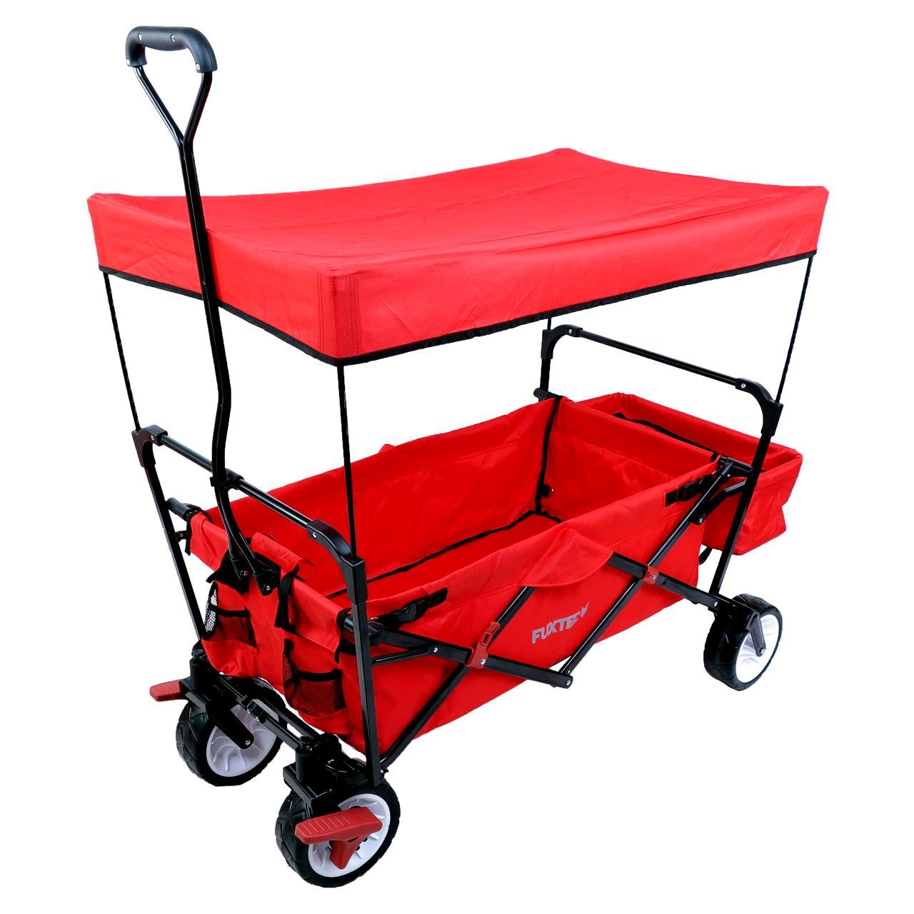 (online @FUXTEC) Bollerwagen FX-CT350 als B-Ware rot - Sovendus Gutschein für 65,45€ möglich