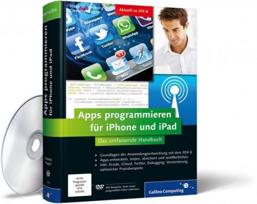 """GRATIS: """"Apps programmieren für iPhone und iPad"""" als kostenloses Openbook"""