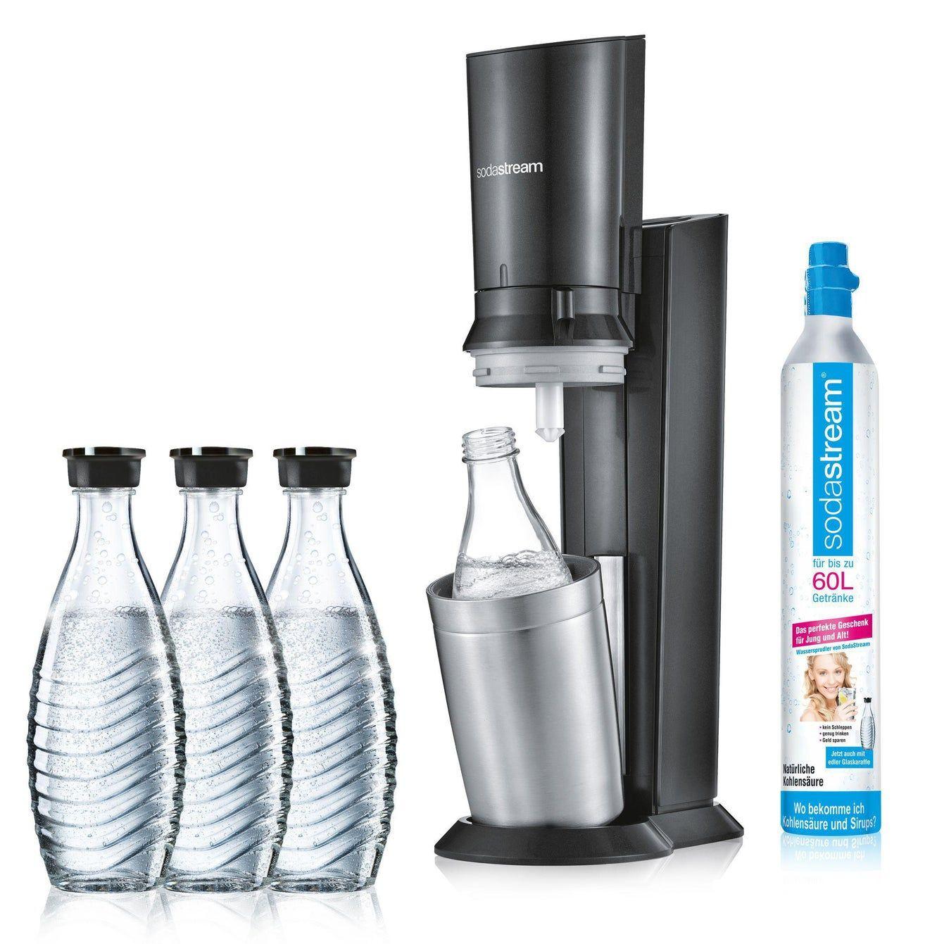 Sodastream Crystal 2.0 Promopack mit 3 (!) Karaffen