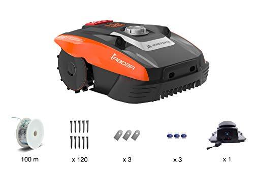 Amazon Prime WHD Yard Force Mähroboter COMPACT 400Ri bis zu 400 qm - Selbstfahrender Rasenmäher