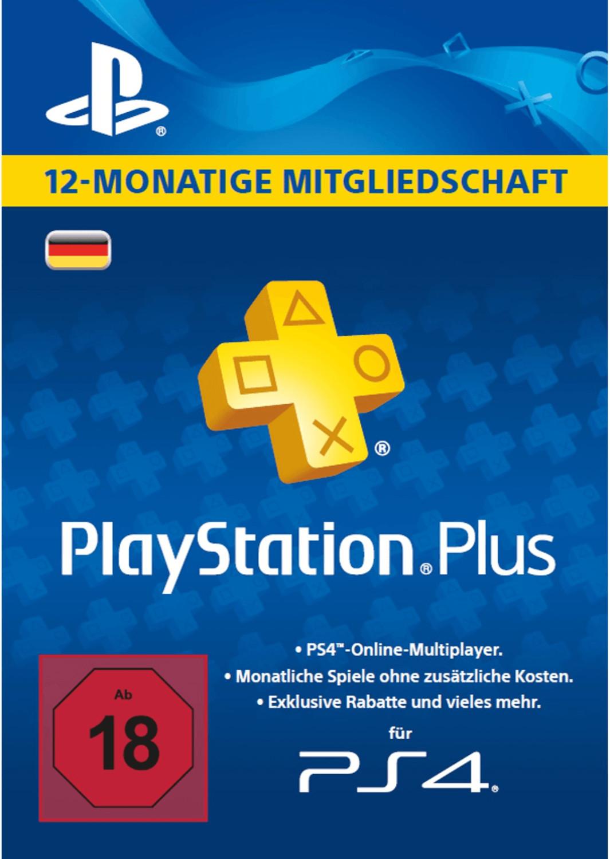 PlayStation Plus oder Now: 12 Monate Mitgliedschaft für 40,49€ über die App [eBay-Medion]
