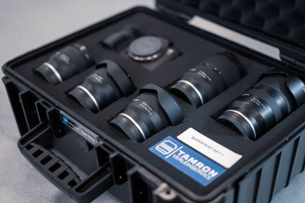 Tamron Testkoffer mit Objektiven für Sony E-Mount (-100€ für erste/eine Woche Miete)