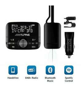 Alpine EZI BT/Pure Highway 600 DAB+ Digitaler Autoradio-Adapter