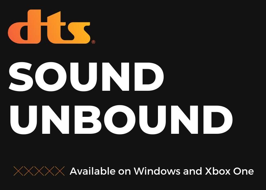 DTS:X Unbound | Xbox & Windows 10 | 9,99€