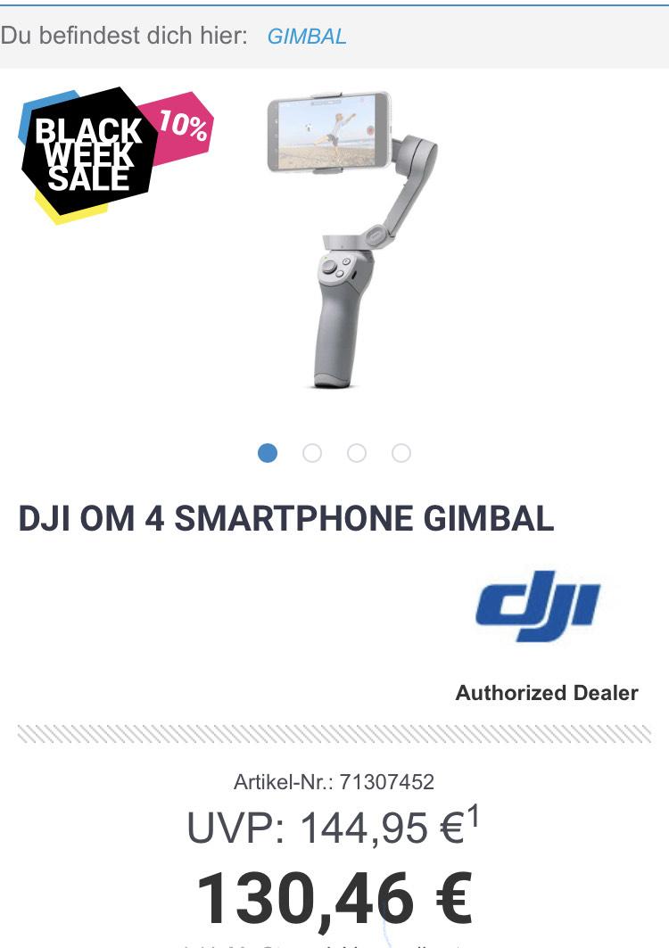 Smartphone Gimbal DJI OM 4