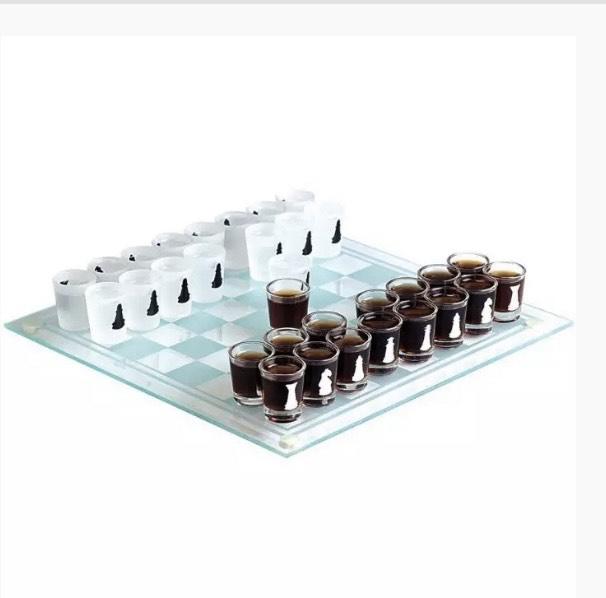 Schnapsgläser Schach - Trinkspiel -20% Rabatt