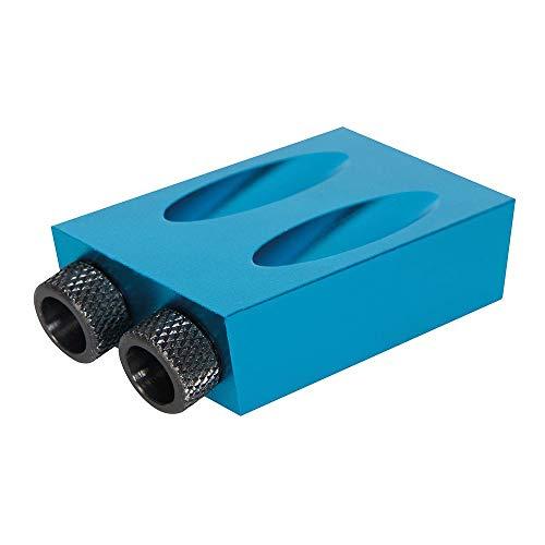 (Prime) Silverline 868549 Pocket Hole Taschenloch-Bohrvorrichtung Jig 6, 8 und 10 mm