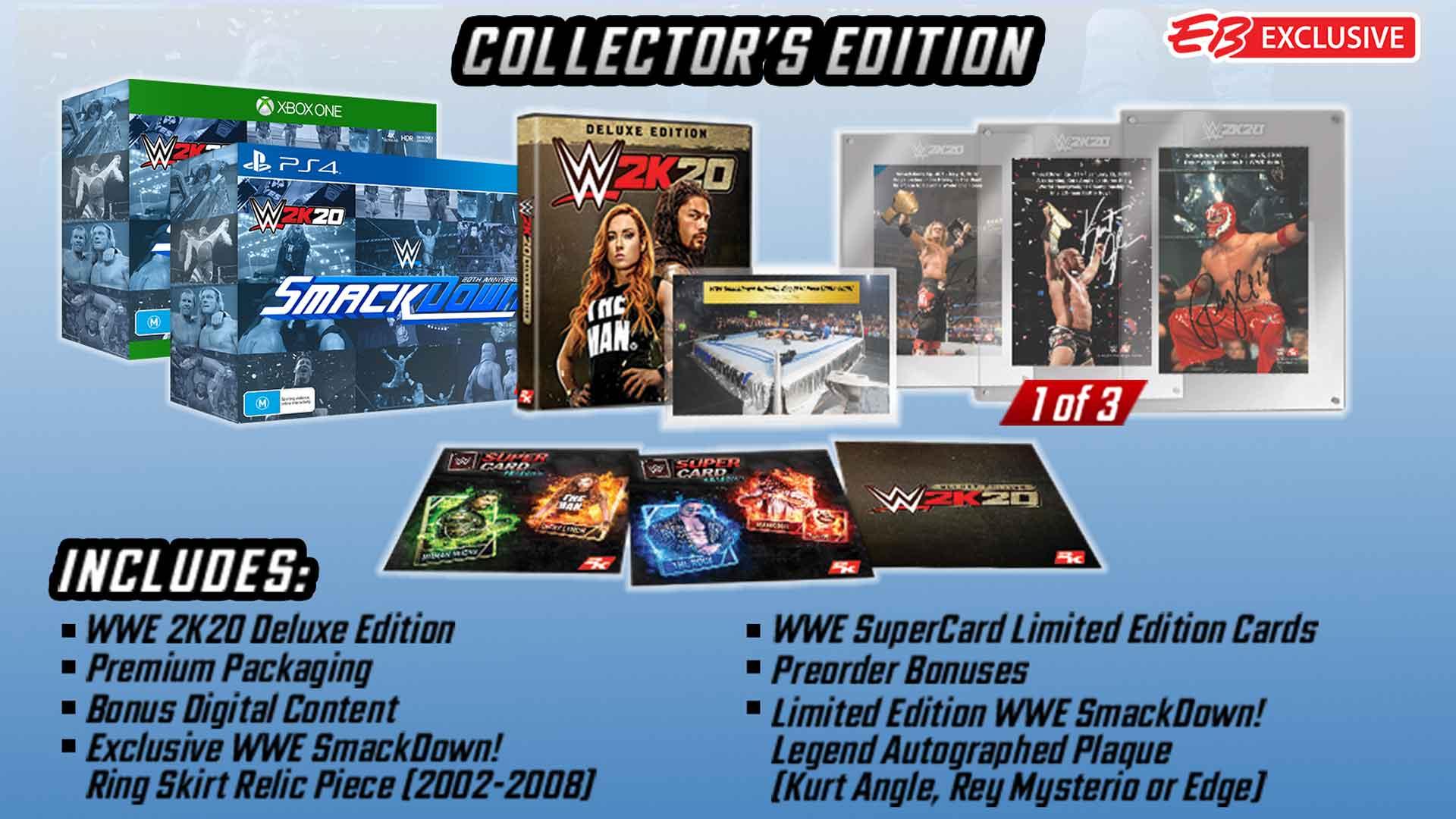 WWE 2K20 Collector's Edition (Xbox One) für 33,08€ inkl. Versand (GameStop)