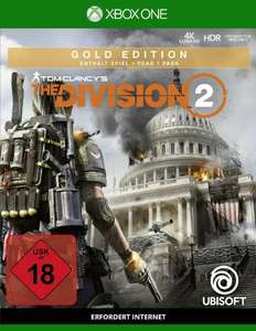 Tom Clancy's The Division 2 Gold Edition (PS4 & Xbox One) für 11,78€ inkl. Versand (GameStop)