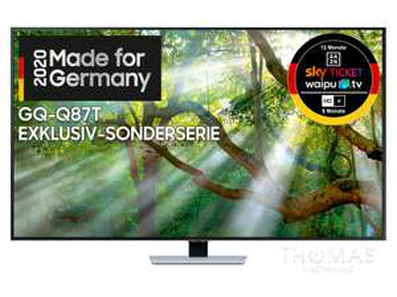 Samsung GQ55Q87T 4K QLED TV - 2020 Black Week Angebot
