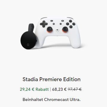 [Stadia] Google Chromecast Ultra + Stadia Controller