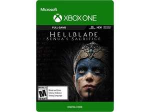 Hellblade: Senua's Sacrifice Xbox One [Digital Code] (local USA?)