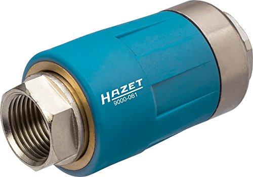 HAZET Druckluftschlauch-Sicherheitskupplung 3/8 Zoll (16,41 mm) Innengewinde