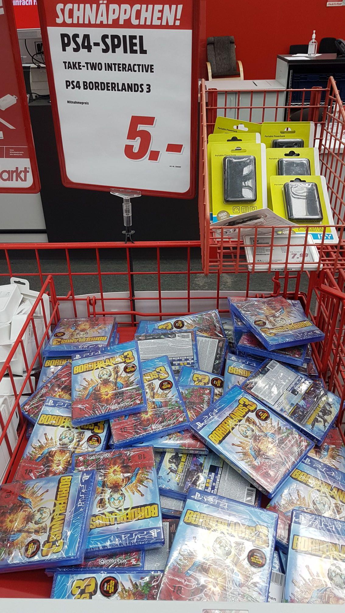 [Lokal? Hamburg-Wandsbek] Borderlands 3 PS4 Media Markt Friedrich-Ebert-Damm