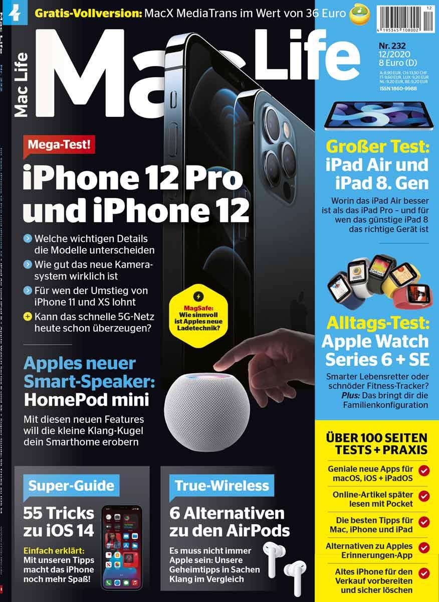 Eine Ausgabe Mac Life gratis lesen inkl. ePaper als App für iOS, Kündigung erforderlich